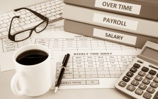 Accounting and General Payroll time sheet for human resources